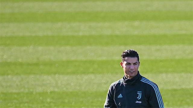 Cristiano cambia ligeramente de look antes de visitar al Leverkusen