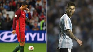 Cristiano y Messi, en una situación límite