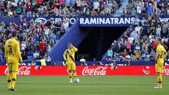 Debacle del Barça en el Ciutat de València