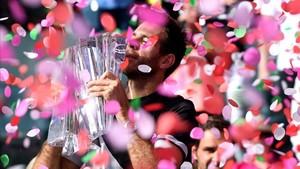Del Potro hace historia ganando la final de Indian Wells a Federer