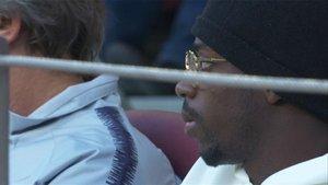 Dembélé vio la derrota frente al Betis desde la grada