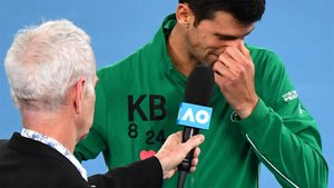 Djokovic se emocionó recordando a Kobe