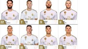 Eden Hazard ya luce en la web oficial del Real Madrid con el dorsal 7