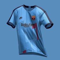 Esta es la tercera camiseta que luciría el Barça el curso que viene