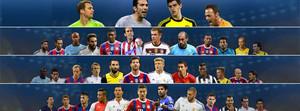 Estos son los candidatos al equipo del año de la UEFA