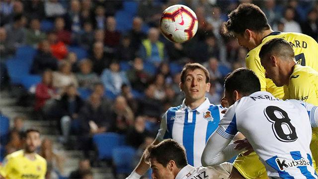 Gerard Moreno acerca al Villarreal a la permanencia