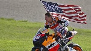 Hayden fue campeón del mundo de MotoGP en 2006