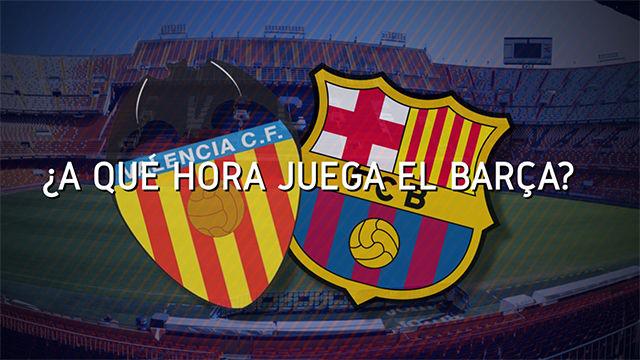 Horario y dónde ver el Valencia - Barcelona de la Jornada 21 de LaLiga Santander 2019 - 2020