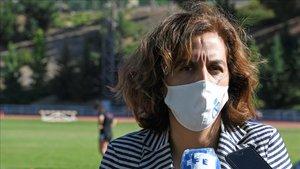 Irene Lozano, presidenta del CSD, informó sobre las subvenciones de las federaciones deportivas