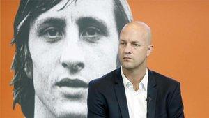 Johan Cruyff siempre está en la mente de su hijo Jordi