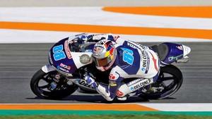 Jorge Martín consiguió la pole position en Moto3
