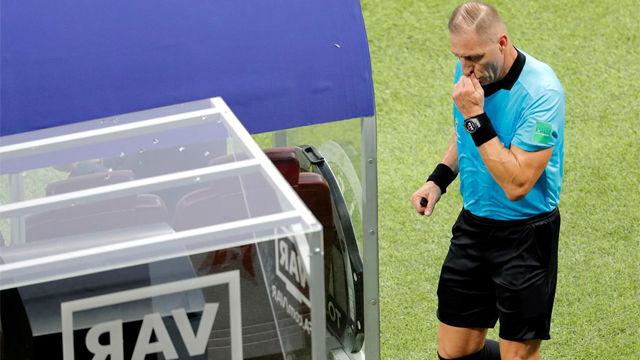 El VAR fue protagonista en la final del Mundial de Rusia