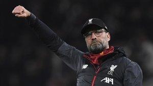 Jürgen Klopp, técnico del Liverpool, de uñas con la Copa Africana de Naciones