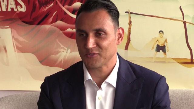 Keylor Navas mostró su película Hombre de fe en Cannes