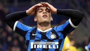 Lautaro Martínez negocia su contrato con el Inter de Milán