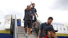 Los jugadores llegaron a Washington tras un plácido vuelo