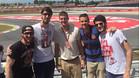 Marcelinho, Tomic, Doellman, Nachbar y Abrines no se quisieron perder la carrera