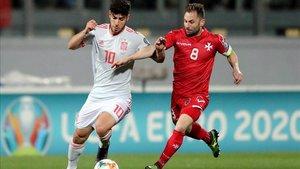 Marco Asensio dedicó la victoria contra Malta a Luis Enrique