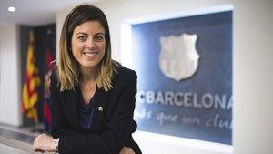 Marta Plana, directiva del FC Barcelona