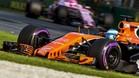 El McLaren ha mostrado un importante déficit de prestaciones