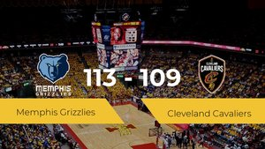 Memphis Grizzlies consigue vencer a Cleveland Cavaliers en el Fedexforum (113-109)