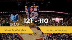 Memphis Grizzlies consigue vencer a Houston Rockets en el Fedexforum (121-110)