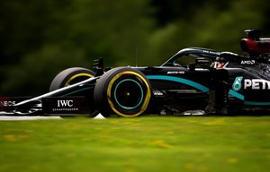 El Mercedes de Hamilton, líder del Mundial tras cinco citas.