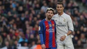 Messi y Cristiano, las dos grandes estrellas de LaLiga