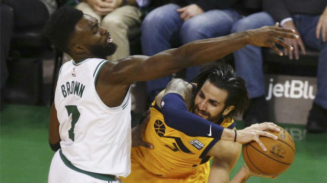 NBA VÍDEO | Ricky salva a los Jazz de los Celtics de Boston
