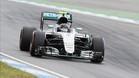 Nico Rosberg, el más rápido en Alemania