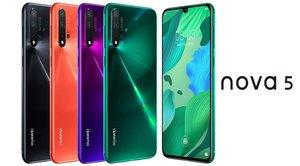La nueva serie nova 5 de Huawei