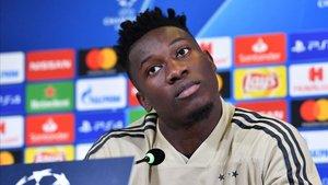 Onana se mostró confiado en las opciones del Ajax ante la Juventus