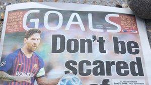 Pochettino intenta mentalizar a sus jugadores para el Tottenham-Barça