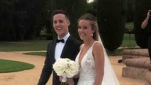 Pol Espargaró se ha casado con Carlota Bertran