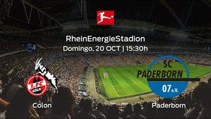Previa del partido: el Colonia recibe en casa al Paderborn