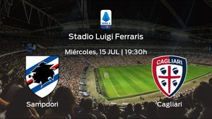 Previa del partido: la Sampdoria recibe al Cagliari en la trigésimo tercera jornada