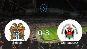 El At. Pulpileño suma tres puntos tras pasar por encima al Águilas (0-3)