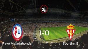 El Rayo Majadahonda logra la victoria tras vencer 1-0 al Sporting B