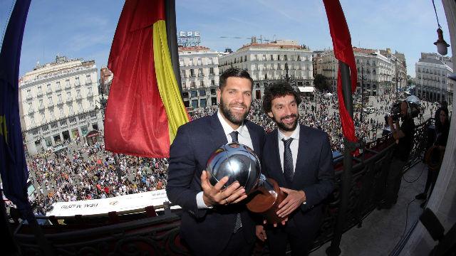 El Real Madrid ofrece la liga a los madrileños