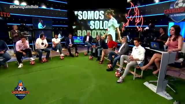 Roncero explota para darle una lección de humildad a Bale