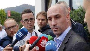 Rubiales, presidente de la Federación Española