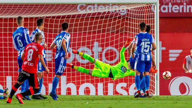 Salva Sevilla dio alas al Mallorca con un golazo de falta