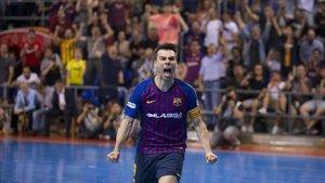 Sergio Lozano fue clave para la conquista de la pasada Liga