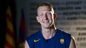 Smits, feliz por recalar en el Barça Lassa