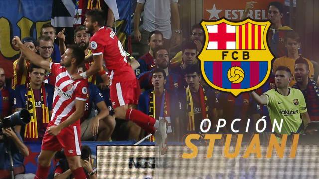 Stuani, a un paso del Barça