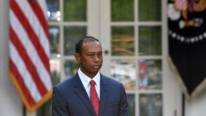 Tiger Woods, en la Casa Blanca hace escasos días