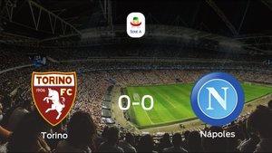 El Torino y el Nápoles se reparten los puntos tras empatar a cero