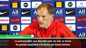 Tuchel: Mientras la situación no se aclare, Neymar no jugará