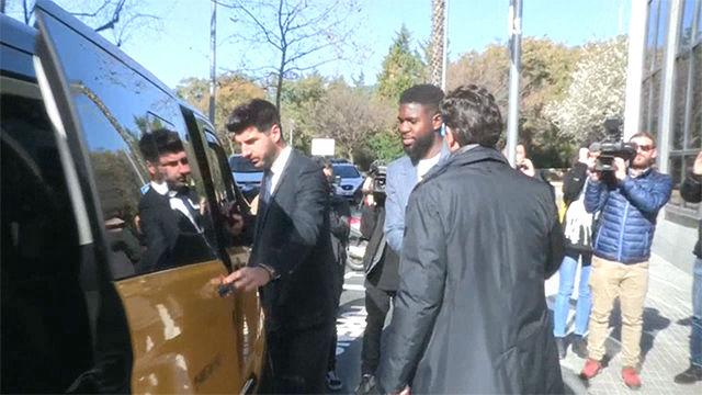Umtiti niega haber destrozado una casa de alquiler en Esplugues