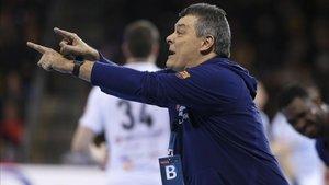 Xavi Pascual solo piensa en el duelo ante el Meshkov Brest